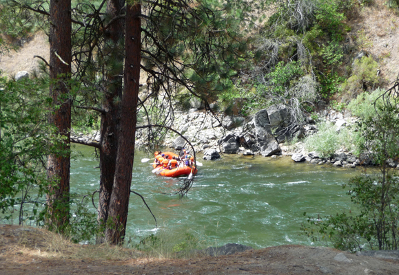 Rafters on Payette River