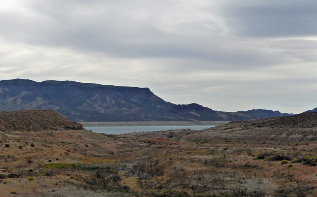 Lake Mead from Callville Campground
