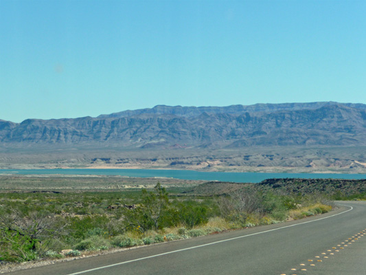 Lake Mead from Northshore Road