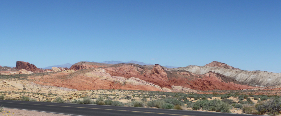 View from Lot #1 Valley of Fire
