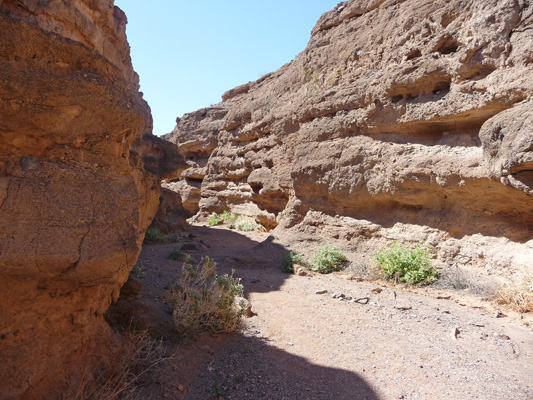 White Owl Canyon past culvert