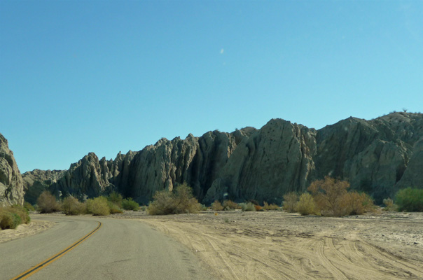 Box Canyon Rd Mecca Hills CA