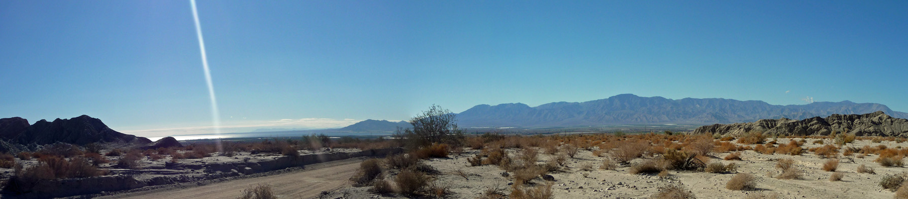 Salton Sea Little San Bernardino Range Choachella Valley