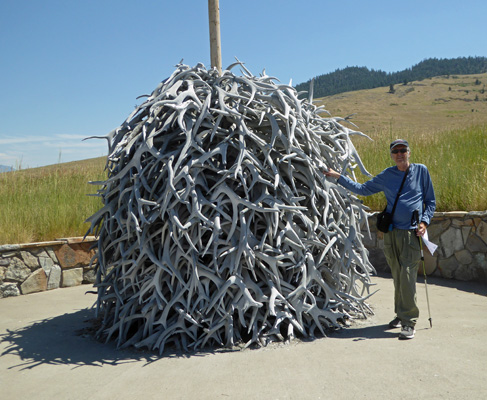 Antler Pile and Walter Cooke