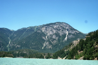 Diablo Lake from the kayak