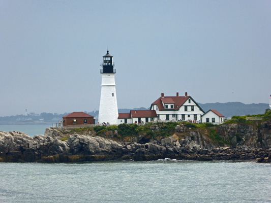 Portland Maine south lighthouse