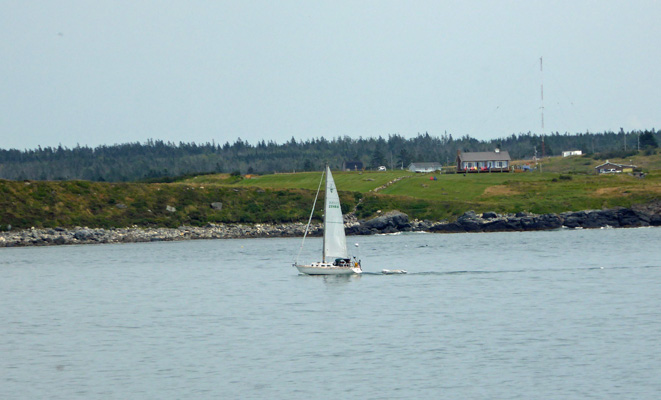 Sailboat headed to Yarmouth NS