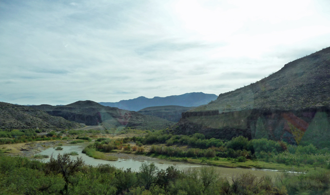 Rio Grande from Hwy 170