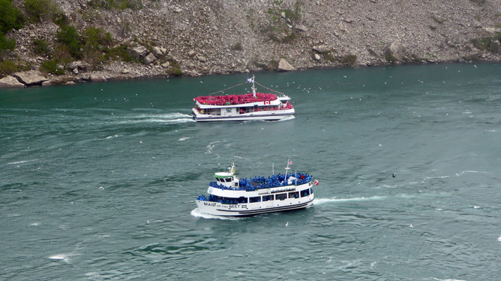 Maid of the Mist and Hornblower Niagara Falls