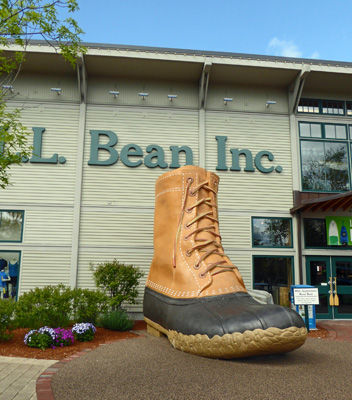 Giant LL Bean mud boot