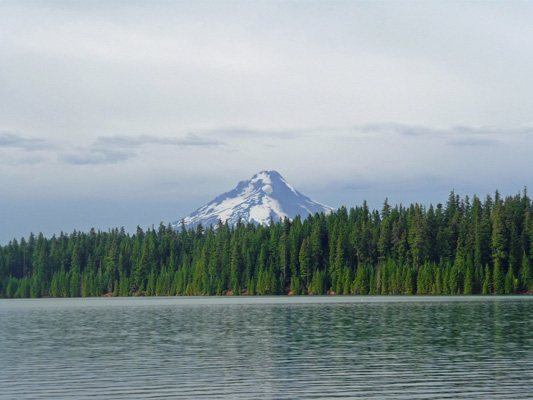 Mt. Hood from Timothy Lake OR