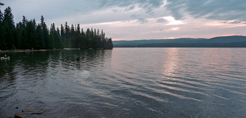 Timothy Lake from Oak Creek Campground OR