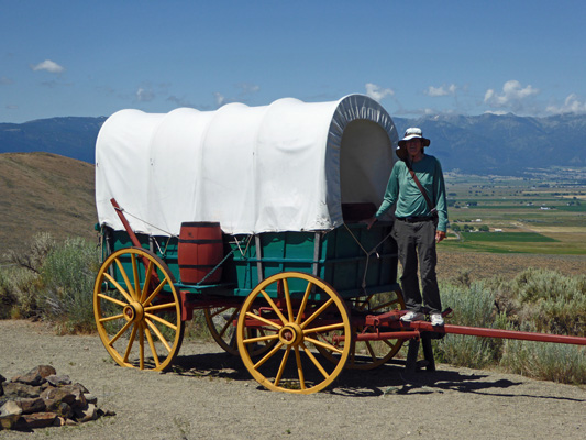 Walter Cooke Covered Wagon