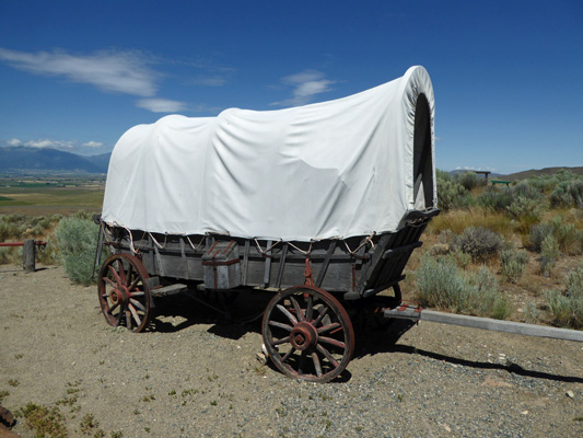 Prairie schooner OR Trail Interp Center