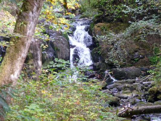 Oregon waterfalls october 2014 - Crystal pools waterfall ...