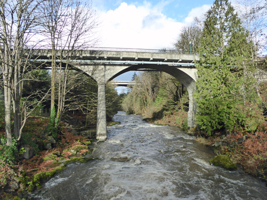 Upper Tumwater Falls Bridge
