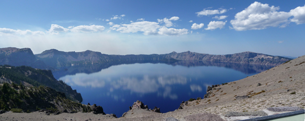 Crater Lake from Cloudcap