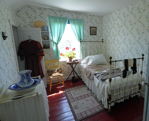 Anne of Green Gables bedroom