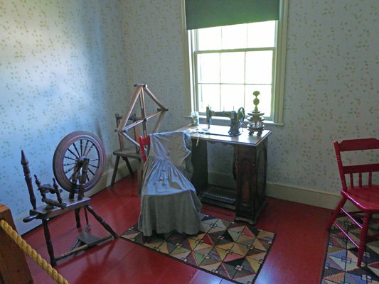 Green Gables sewing room