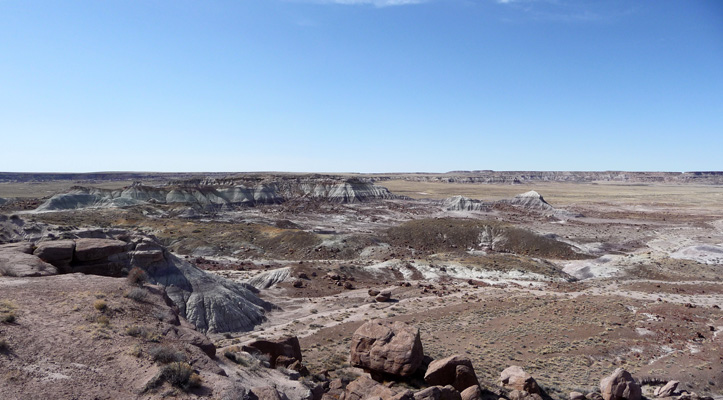 Jasper Canyon Petrified Forest NP
