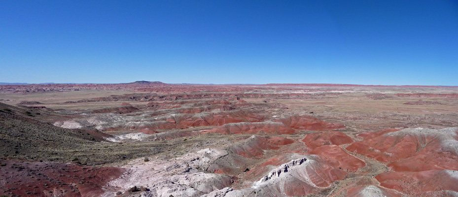 Kachina Point viewpoint Petrified Forest