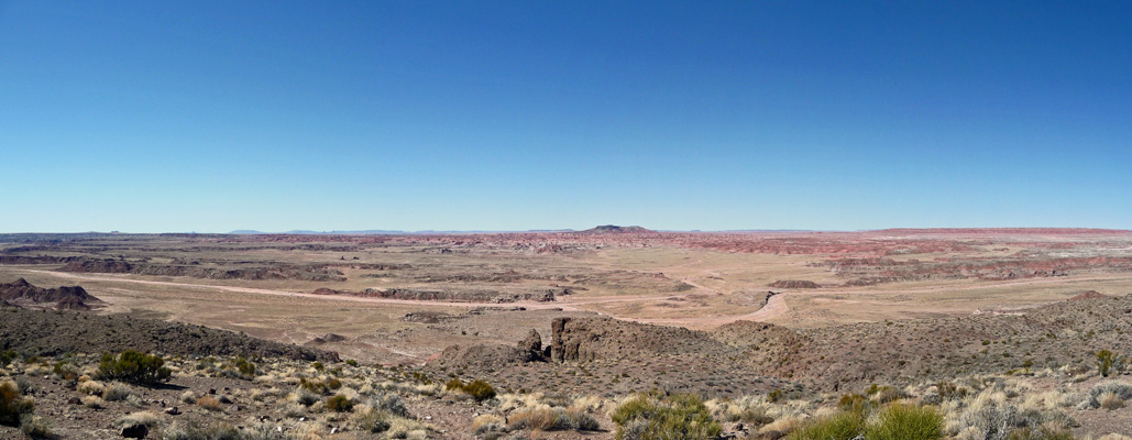 Pintado Point viewpoint Petrified Forest NP