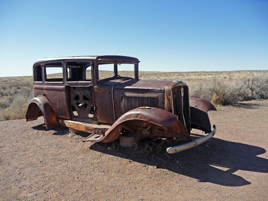 1932 Studebaker Petrified Forest NP