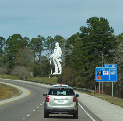 Sam Houston statue I-45