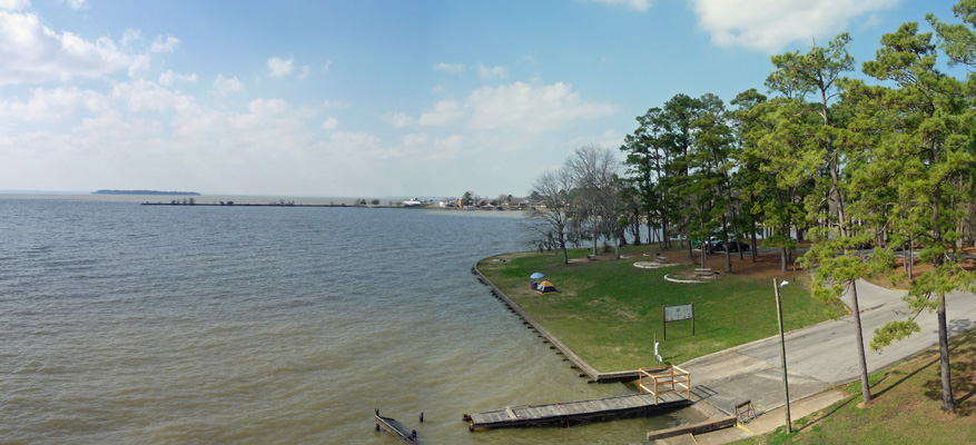 Lake Livingston Panorama