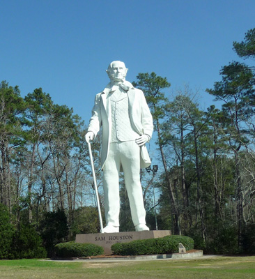 Sam Houston Statue Huntsville TX