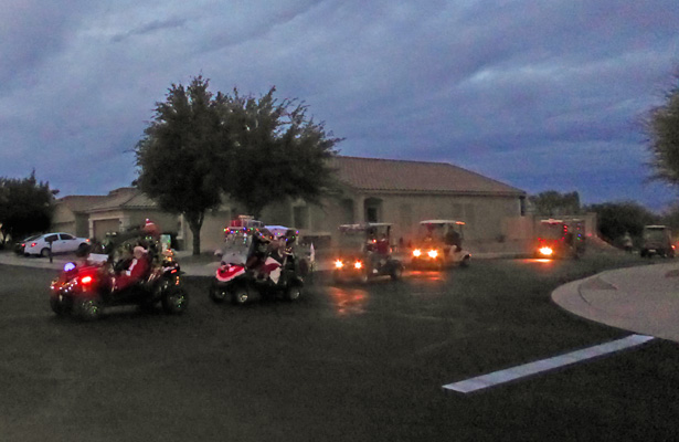 Rancho Resort Holiday parade