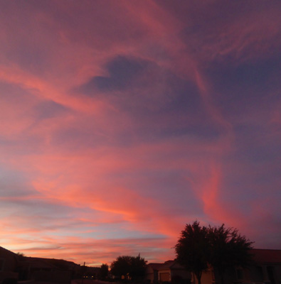 Sunset Sahuarita