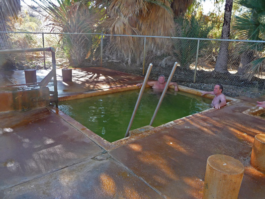 Hot pool at Holtville Hot Springs