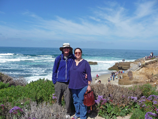Walter and Tracy Cooke La Jolla CA