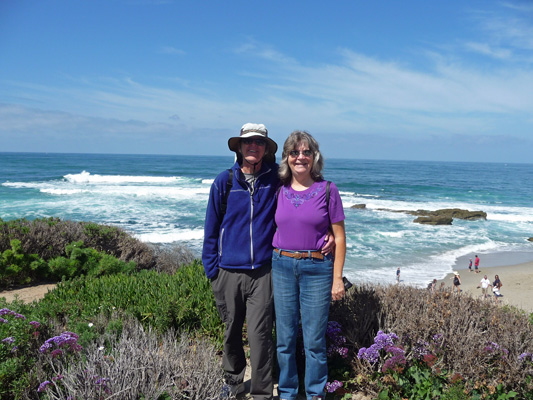 Walter Cooke and Sara Schurr La Jolla CA