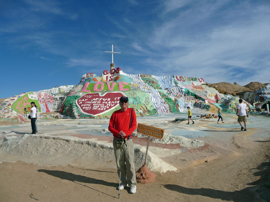 Walter Cooke Salvation Mountain Slab City CA