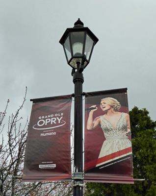 Grand Ole Opry banner