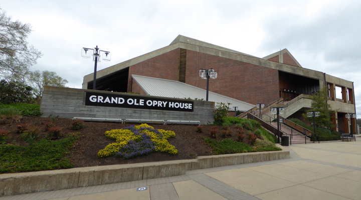 Grand Ole Opry side view