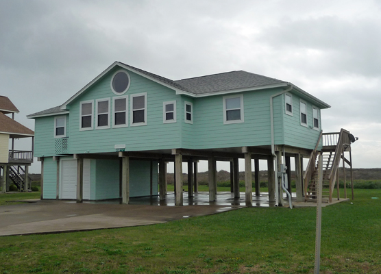House on Matagorda Peninsula