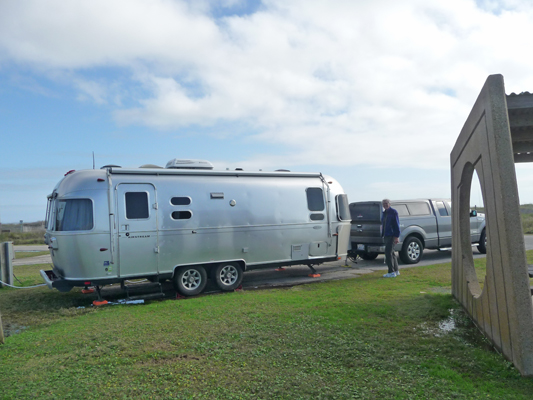 Genevieve Airstream Galveston Island SP