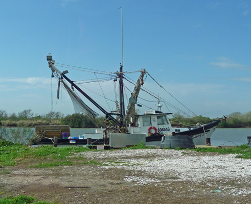 Commerical fishing boat Matagorda
