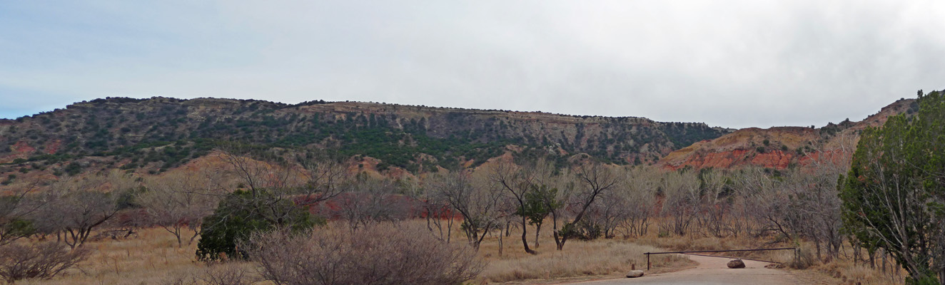 West side of Palo Duro Canyon
