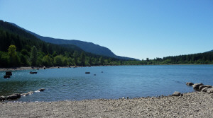 Rattlesnake Lake boat launch WA
