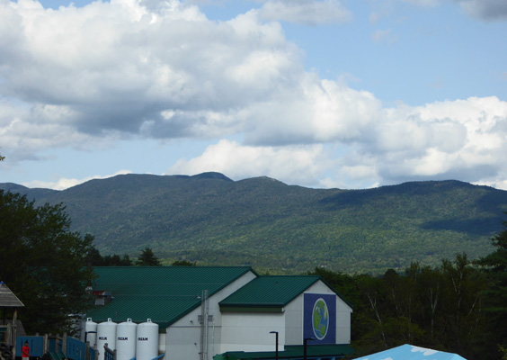 Ben & Jerrys factory and Green MTs