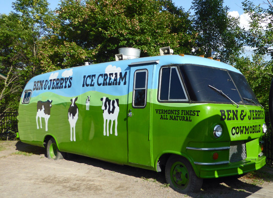 Cowmobile Ben & Jerry's