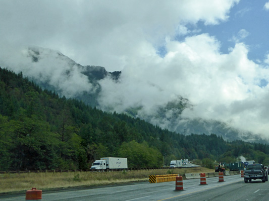 Clouds at Snoqualmie Pass
