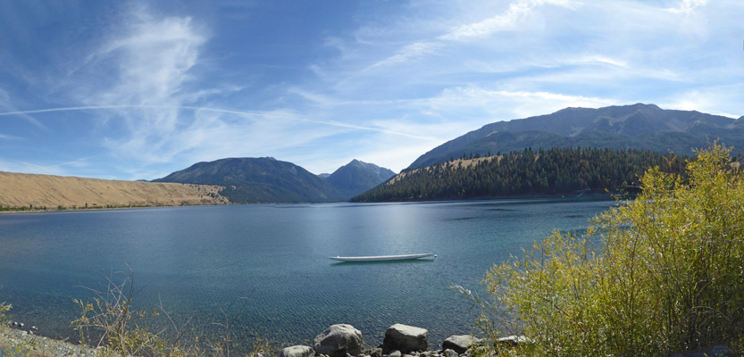Wallowa Lake from Day Use