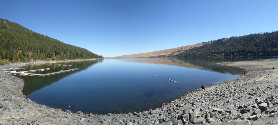 Wallowa Lake from State Park Marina