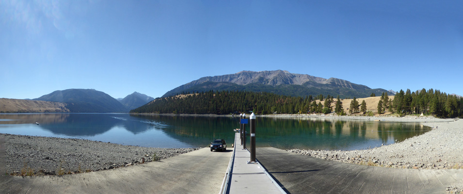 Wallowa Lake from north end