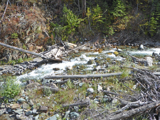 Hurricane Creek whitewater